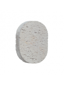 Piedra pómez natural Ovalada