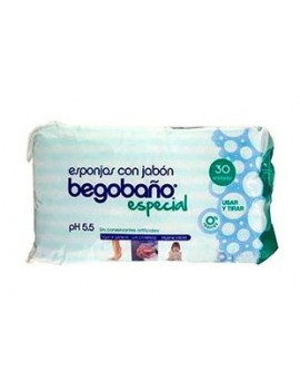 Esponja Begobaño 30 unidades.